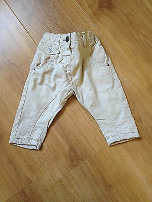 Next baby girls trousers (chinos) 3-6 months
