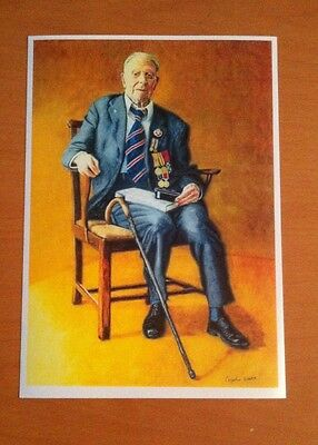Harry Patch The Last Tommy 8x6 Picture World War One Medals