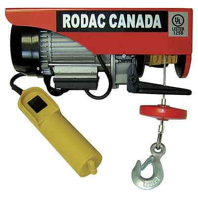 Rodac 440/880Lb 110 Volts Electric Winch Hr400