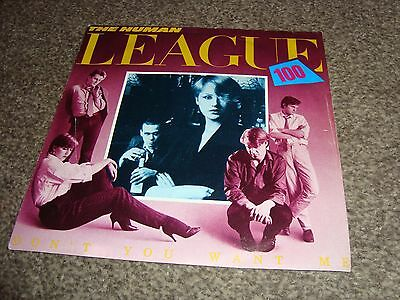 "The Human League - Don't You Want Me 7"" Single"