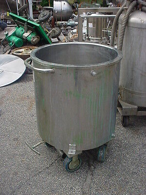 45 gallon Stainless steel JACKETED TANK