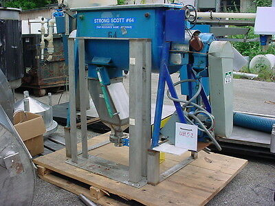 5 cu ft  stainless steel STRONG SCOTT JACKETED RIBBON BLENDER DRYER