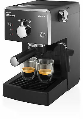 Cafetera Manual Expresso Saeco Poemia Focus Hd8324 Philips Negra