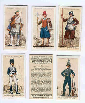 Full Set - 1939 - Uniforms of the Territorial Army - Player