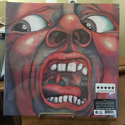 King Crimson, In The Court Of The Crimson King 200 Gram Vinyl Lp Uk Audiophile