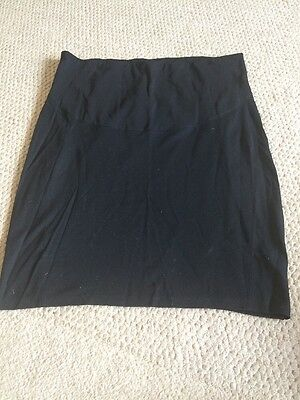 Mamas & Papas Size 14 MATERNITY Ladies Black Skirt