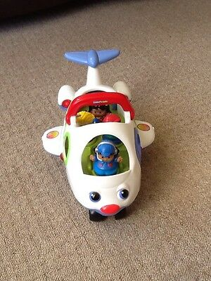 Fisher Price Aeroplane With Little People