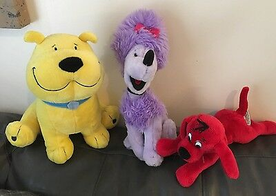 Kohl's Cares Clifford The Big Red Dog Plush Stuffed Animal Characters