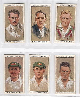 Full Set - 1934 - Cricketers, 1934 - Player
