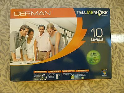 Tell me more German Language 10 levels Bargain (Learn German) Not Rosetta Stone