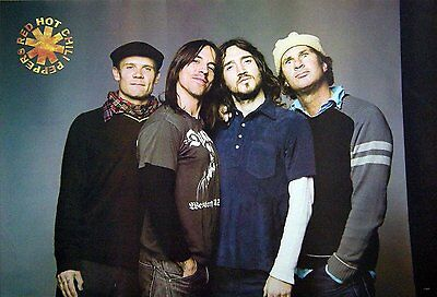 RED HOT CHILI PEPPERS THE POSTER SHEET 24x36 INCH MUSIC ROCK CONCERT NEW PM236