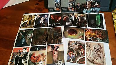 X-Files Season 2, X3Pf1 +2 Set,etched Foil,chromium, Lot Of 20 Chase Trade Cards