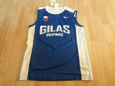 Men's Gilas Pilipinas XL NWT Basketball Jersey Nike Phillippines International T
