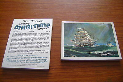 Tom Thumb Britain's Maritime History Full Set By John Player & Sons