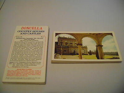 Doncella Country Houses And Castles Full Set By John Player & Sons