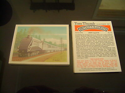 Tom Thumb History Of Britain's Railways Full Set By John Player & Sons
