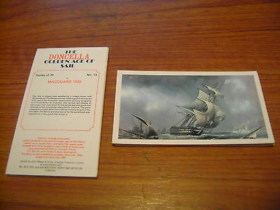 Doncella The Golden Age Of Sail Full Set By John Player & Sons