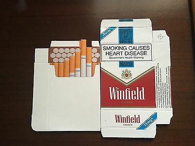 WINFIELD CIGARETTE PACKET~~~Mock up ~~Advertising
