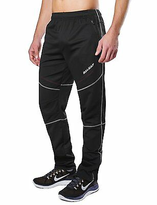 Baleaf Mens Windproof Bicycle Cycling Fleece Thermal Winter Pants Size L