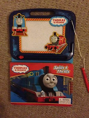 Thomas The Tank Engine Spills and Thrills Book With Magic Drawing Board