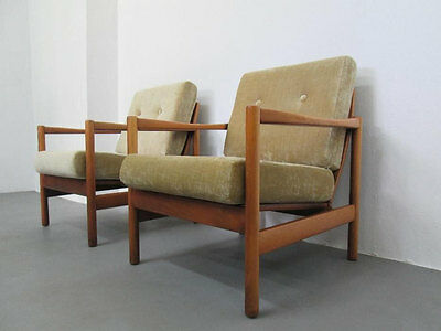 Pair of Vintage DANISH Armchairs Design Great Condition Midcentury Loft Modern