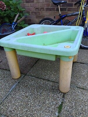 Children's Outdoor Play Sand/Water Table And Toys Collection WD6