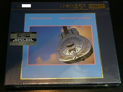 Dire Straits Brothers in Arms LPCD45II Audiophile CD NEW Limited Numbered