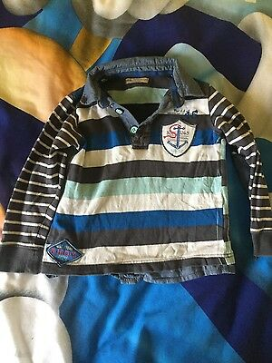boys marks & spencer indigo rugby too 5-6 years