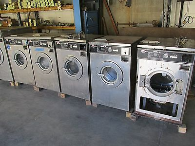 5 - Unimac 18 lb. Double Loader Coin Op Front Load Washers Washer. You Get All 5