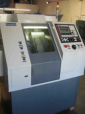 GTS CNC Lathe 6,000 rpm Slant Bed Gang Tool Polymer Composit Base