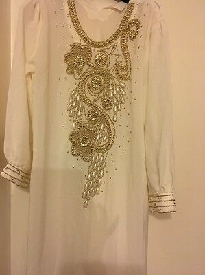 Dubai Kaftan With Sequences Reduced Price