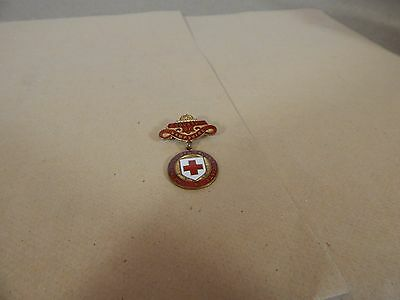 Vintage County of Hampshire Red cross enamel Badge J.Gaunt .