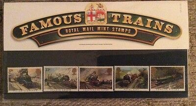 Famous Trains Royal Mail Mint Stamps - 22 January 1985