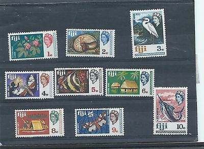 Fiji stamps. Lower values of the 1969 series MNH (X724)