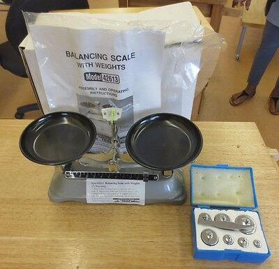NOS New Harbor Freight Tools 42613 Balancing Scale With Weights