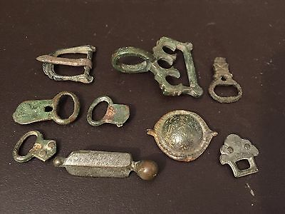 Lot Of Roman And Viking Belt Buckles, Different Styles , Rare