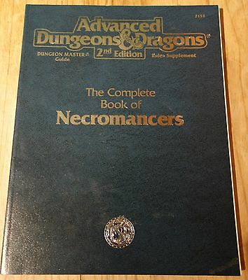 Tsr Ad&d Complete Book Of Necromancers 2151 Advanced Dungeons & Dragons