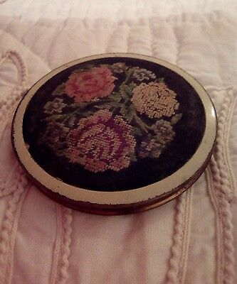2 Vintage compact make up cases  with mirror
