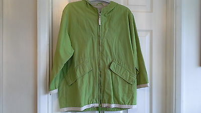 Next girls green jacket size 7-8