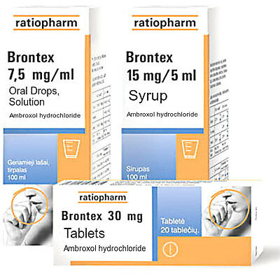 BRONTEX Cough Bronchitis Oras Drops/ Syrup/ Tablets - Babies Children Adults