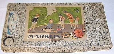 Marklin tin-plate Spinning Top set  Boxed