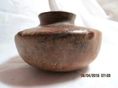 PRE COLUMBIAN  Pottery Vessel with BUMPOUT DESIGN