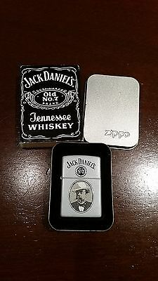 Zippo - Jack Daniels Cameo 224JD 638 - Brand New in Tin and Sleeve - Never Used