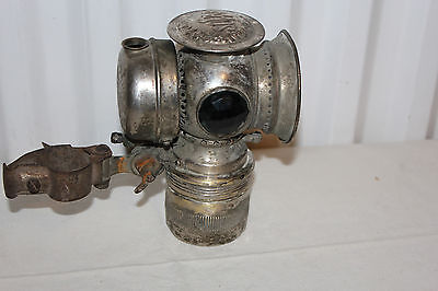 Antique Solar Bicycle Lamp Badger Brass Model S Oil Lamp
