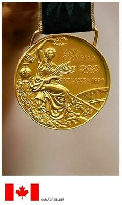 1996 Atlanta Olympic 'Gold' Medal with Silk Ribbon !!!!
