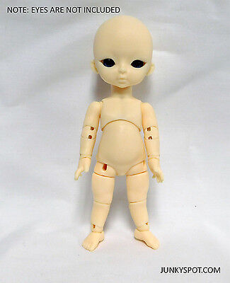 JunkySpot Hujoo Baby 12cm Suve Version 2 Apricot Blank ABS Ball Jointed Doll BJD