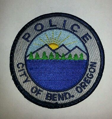 City of Bend Oregon Police Sheriff Patch Old