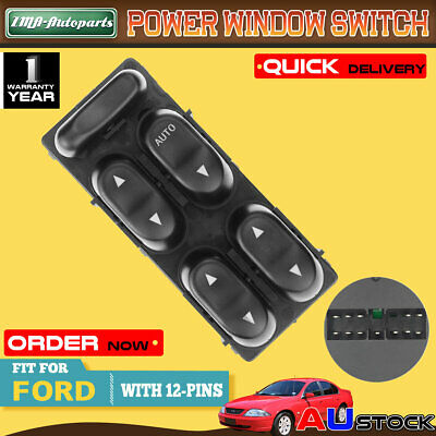 For Ford AU Falcon Fairmont Fairlane XR6 XR8 Master Power Electric Window Switch