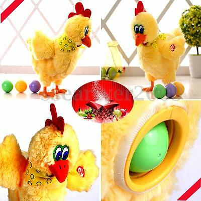 Electric Hen Musical Dancing Laying Egg Funny Educational Baby Kid Toy Xmas Gift