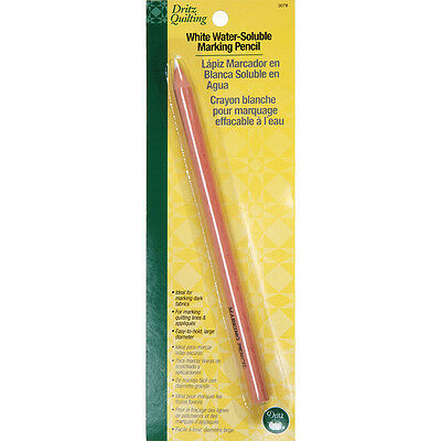Dritz Quilting Water-Soluble Marking Pencil-White
